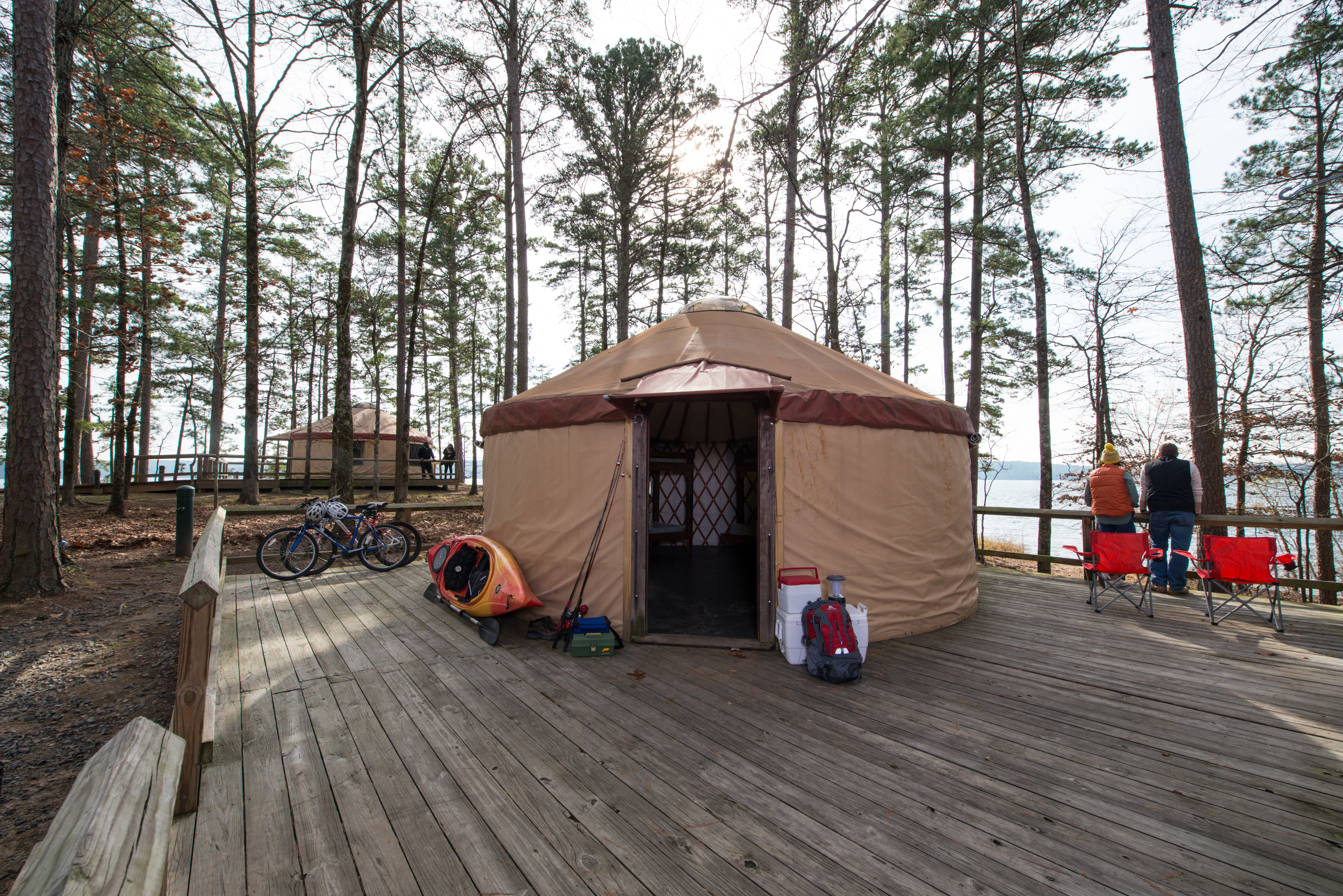 YURTs at DeGray Lake Resort State Park