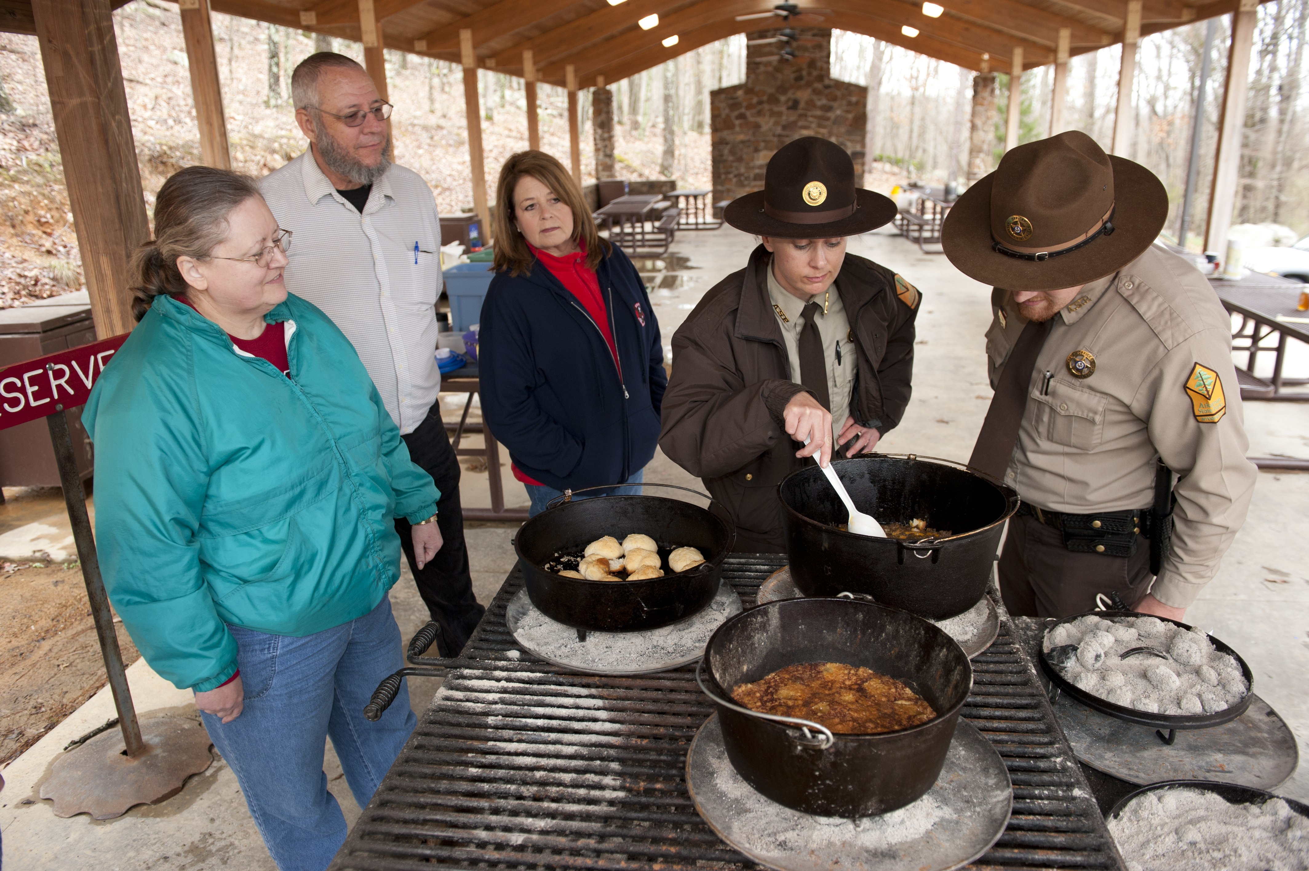 Dutch Oven Workshop at Pinnacle Mountain State Park