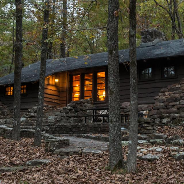 Cabins at Devil's Den State Park