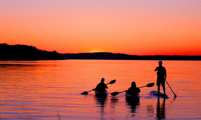 Paddling at DeGray Lake Resort State Park