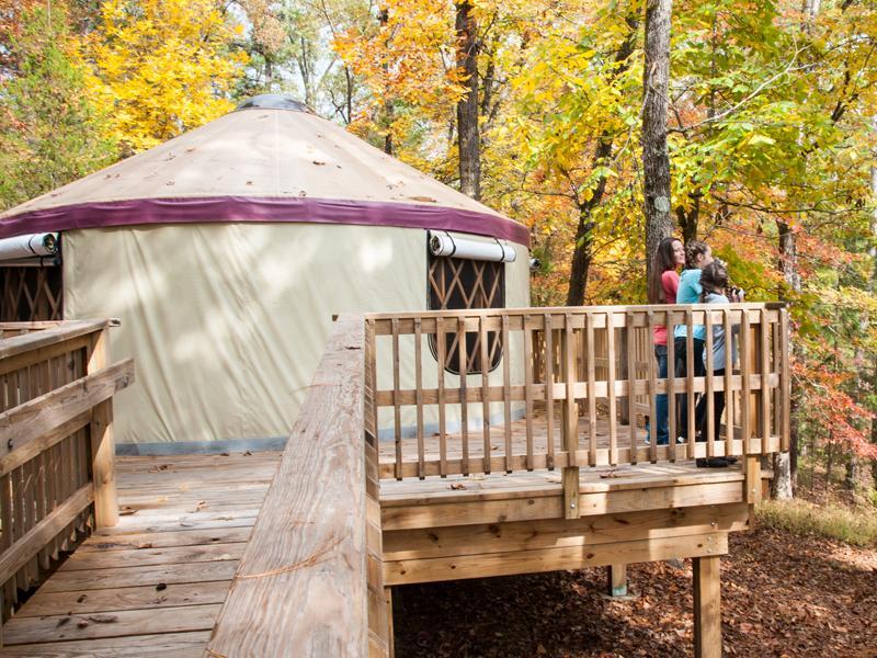 Tour A Yurt Arkansas State Parks Download yurt images and photos. tour a yurt arkansas state parks