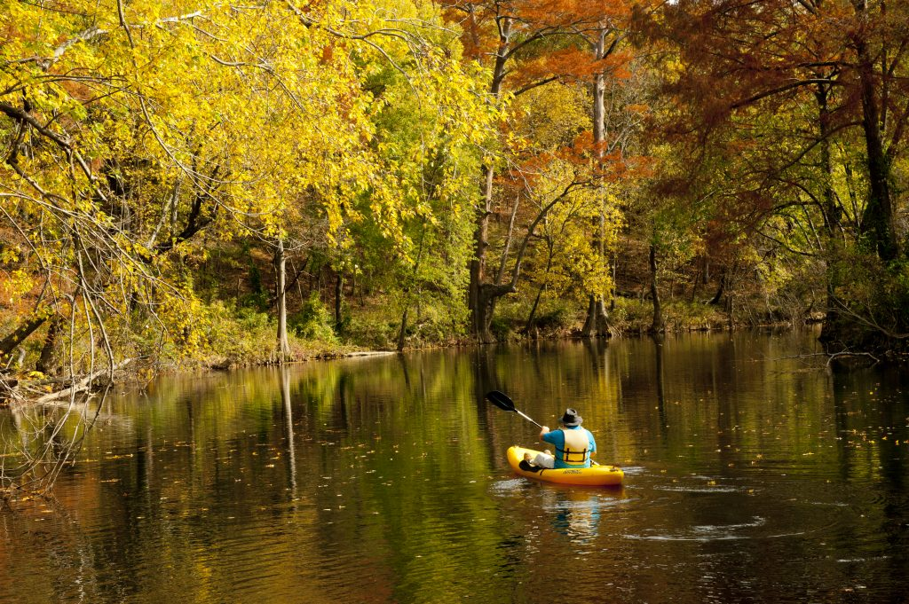 Pinnacle_Mountain_State_Park_Little_Maumelle_Canoe_Fall_1309
