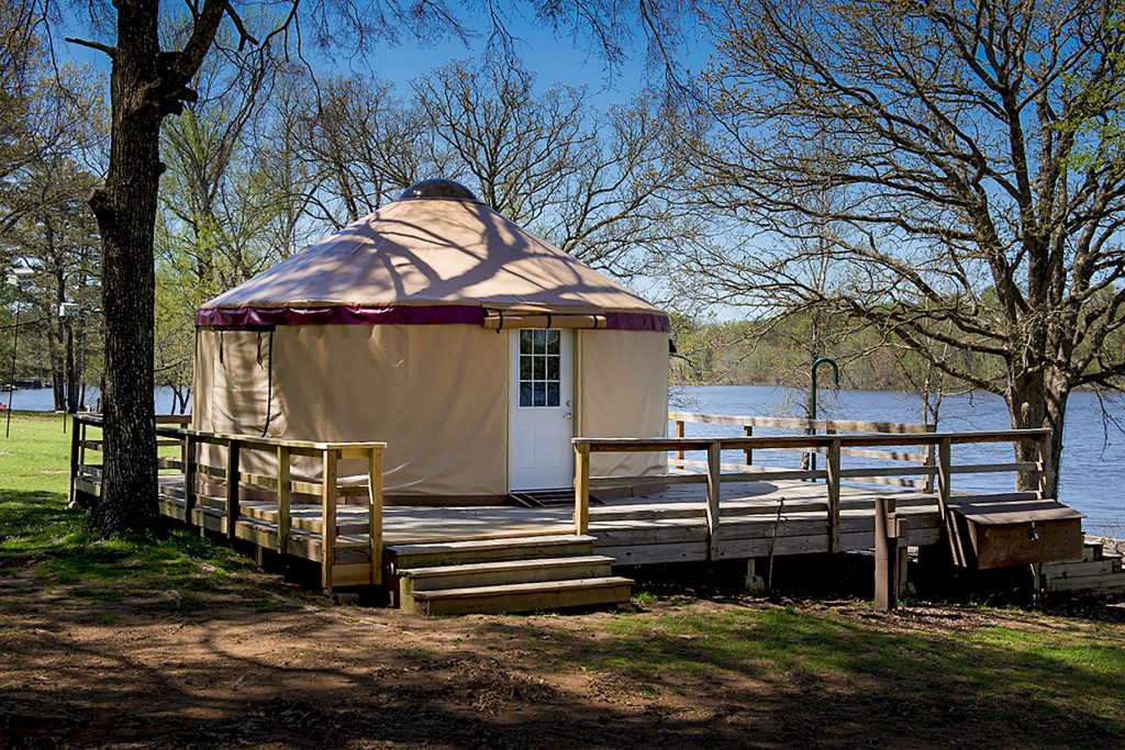 Tour A Yurt Arkansas State Parks Yurt camping is a unique experience. tour a yurt arkansas state parks