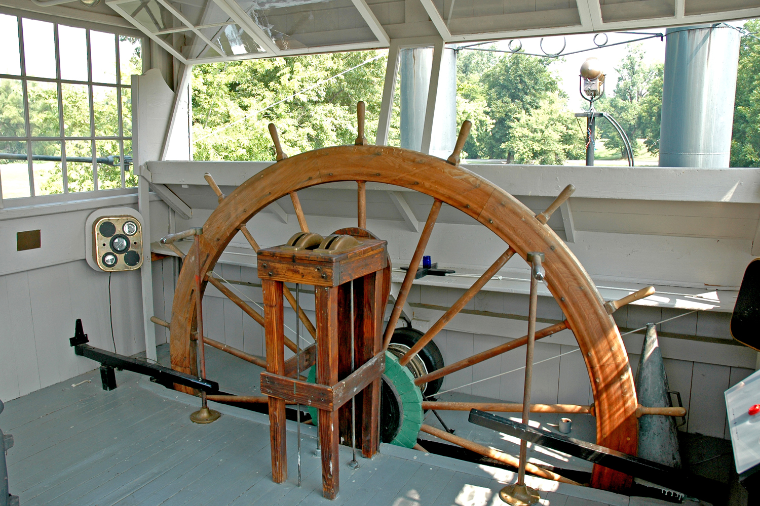 Can't you just imagine yourself standing n the pilot house guiding the Mary Woods No. 2 up the White River?