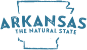 Arkansas Tourism logo.